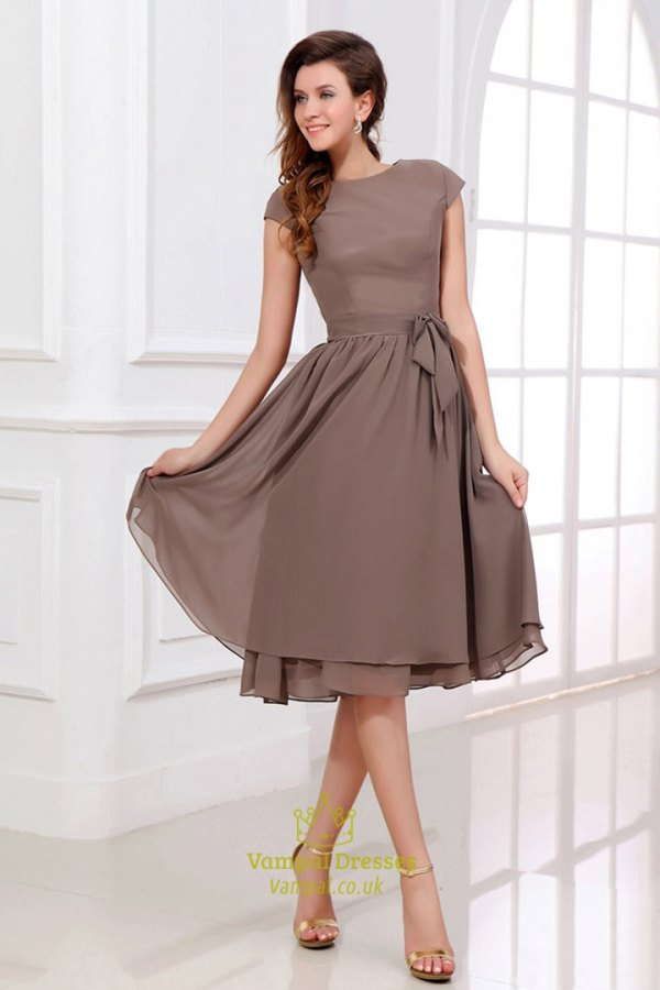 Brown Dress for Wedding
