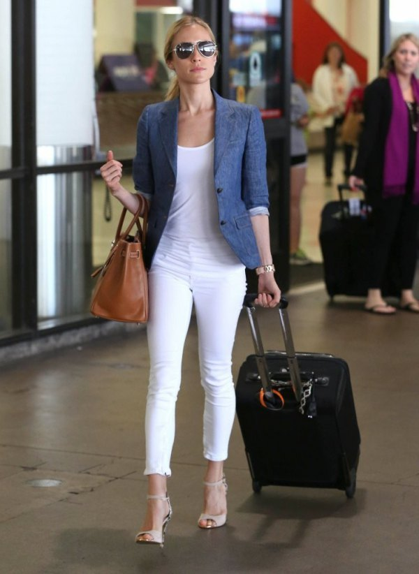 best denim blazer outfit ideas for women