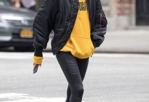 best mustard yellow hoodie outfit ideas for women