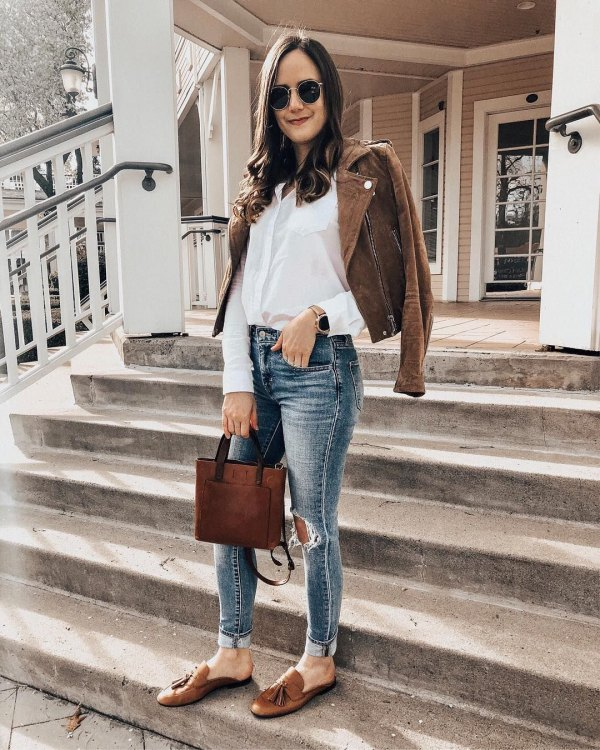 best tassel loafers outfit ideas for women