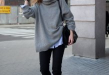 best oversized sweater outfit ideas for ladies