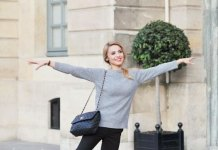 best cashmere sweater outfit ideas