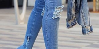 best denim shoes outfit ideas for ladies