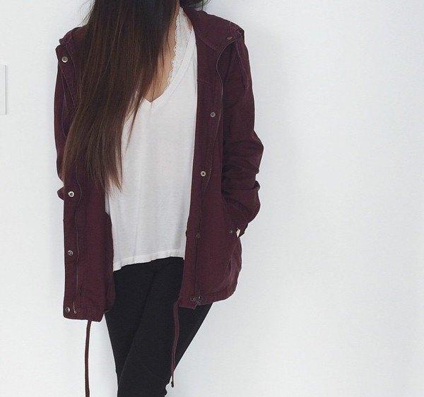 black oversized utility jacket with white boyfriend tee
