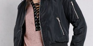 best hooded bomber jacket outfit ideas for ladies