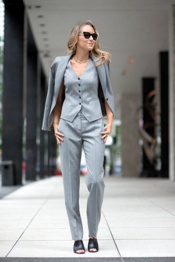 How To Wear Suit Vest Top 15 Unisex Outfit Ideas For Women Fmag Com