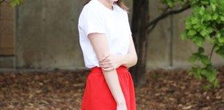 best cotton skirt outfit ideas for women