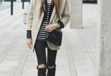 best ripped skinny jeans outfit ideas for women