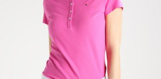 best pink polo shirt outfit ideas for women