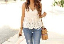 best blue sandals outfit ideas for women