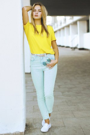 feddf3ec51 How to Style Yellow Polo Shirt  Best 13 Cheerful Outfit Ideas for ...