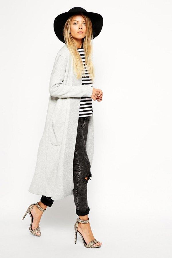 8e0b7a3d Best 13 Long White Cardigan Outfit Ideas for Women - FMag.com