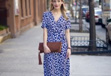 best blue midi dress outfit ideas for women