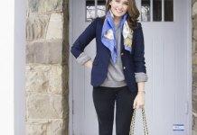 best blue blazer outfit ideas for women