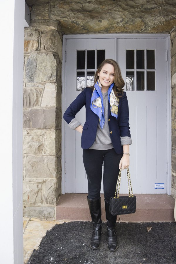 best blue blazer outfit ideas for women