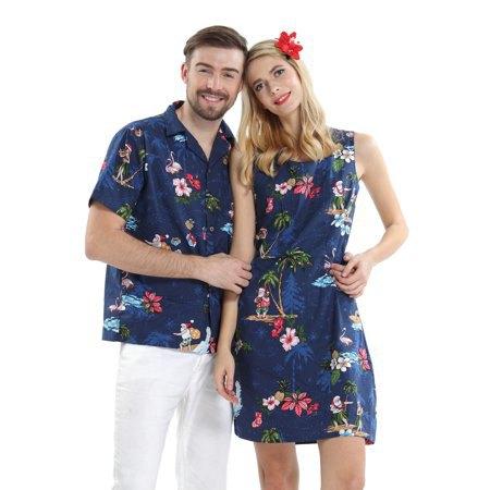 navy blue mini tank luau dress with white sandals