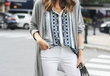 best white cropped jeans outfit ideas for women
