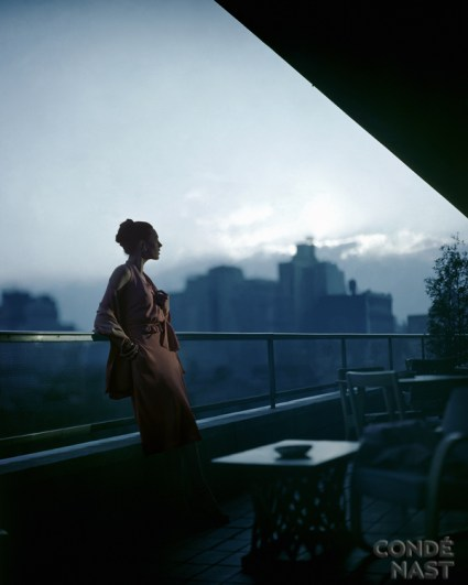 Clarepotter Dress on Roof of MOMA