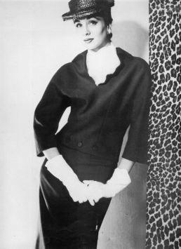 1954 suzy parker - givenchy