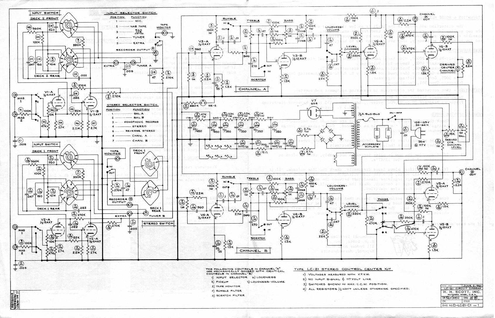 H Hott Tube Stereo Amp Pages
