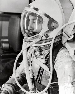 Alan Shepard on Freedom 7 - May, 5 1961