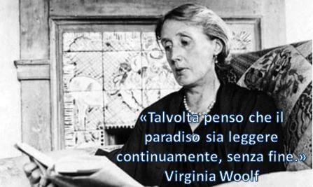 Virginia Woolf - Paradiso e lettura