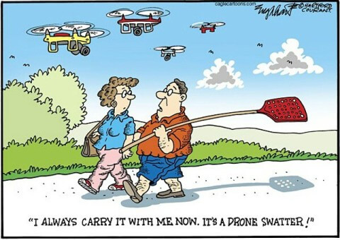 drone cartoon