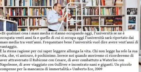 Umberto Eco Leggere