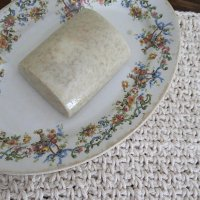 Crocheted Washcloth and Rice Bran Soap