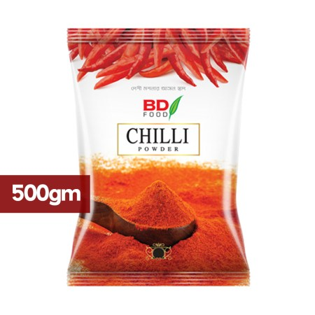 BD Food Chili Powder-500gm