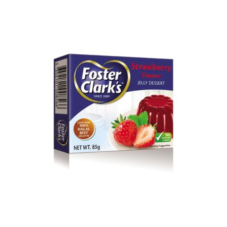 Foster Clark's Jelly Crystal 85g Strawberry