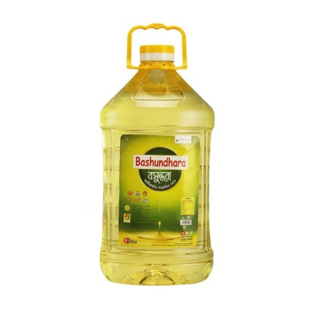 Bashundhara Fortified Soybean Oil 5Ltr