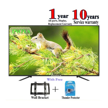 INOVA 32'' DOUBLE / GLASS HD LED TV