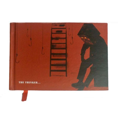 Printed Conceptual Notebook- The Thinker