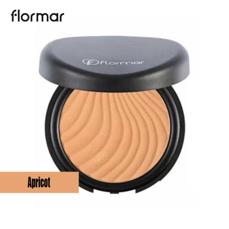Flormar Wet & Dry Compact Powder -Apricot