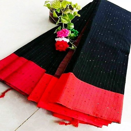 Chumki cotton saree-3