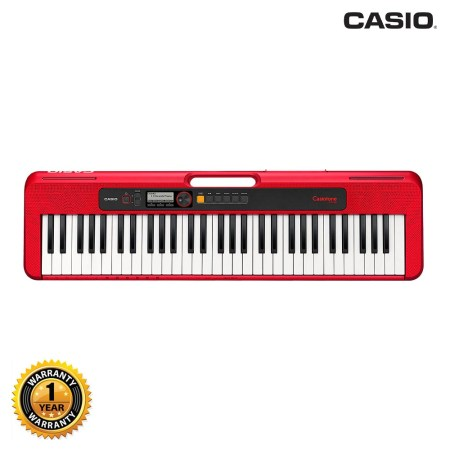 Casio CT-S200RD Portable Musical Keyboard Piano