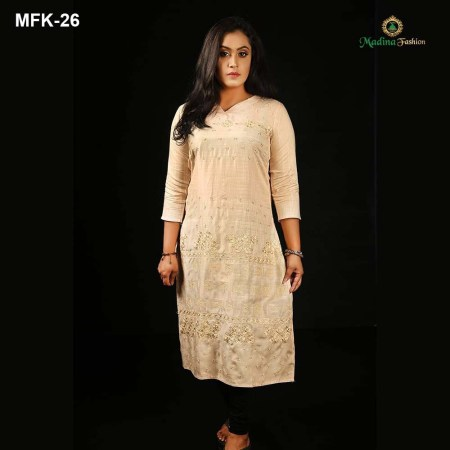 Exclusive Cotton Kurti for Women's (MFK-26)