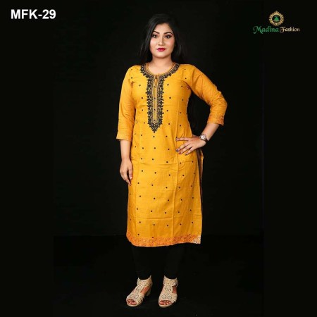 Exclusive Cotton Kurti for Women's (MFK-29)