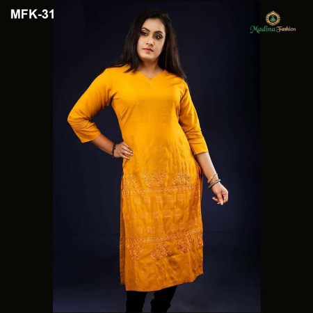 Exclusive Cotton Kurti for Women's (MFK-31)