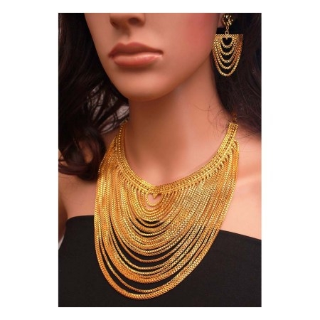 Gold Plated Necklace (KN02)