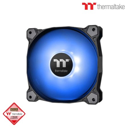 Thermaltake Pure A12 Single Radiator Fan Blue (CL-F109-PL12BU-A)
