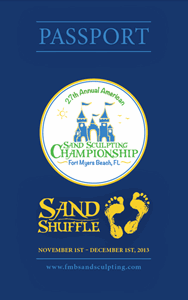 Fort Myers Beach sand sculpting event