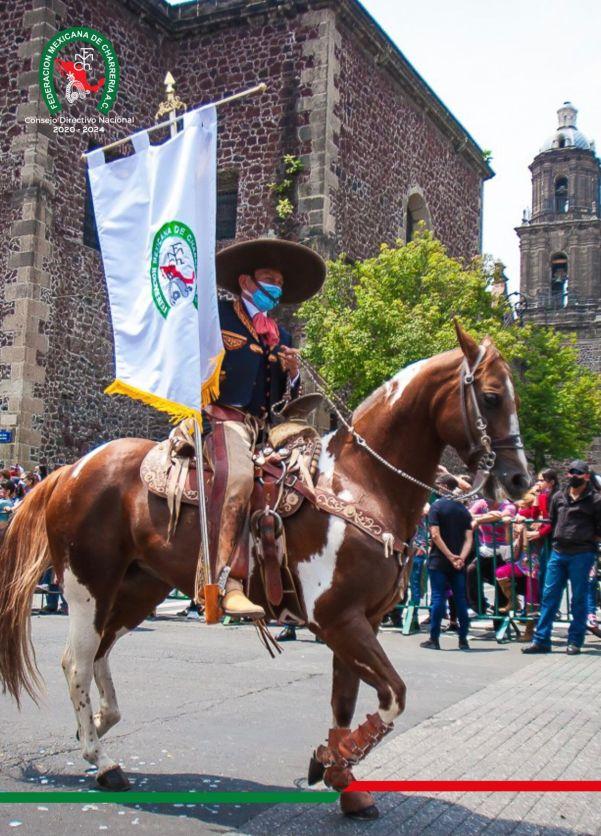 Saúl Cortés marchó enarbolando el estandarte de la Federación
