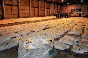 La ruta del tráfico de cocaína hacia Europa transita por vía terrestre, fluvial y aérea, y afecta a todos los países, pero sobre todo a la Argentina, el Brasil y Venezuela.Foto:LA NACION