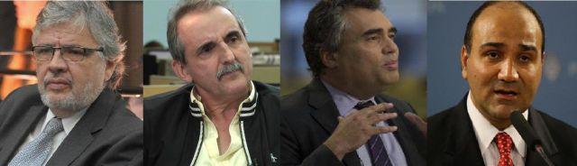 Juan Pablo Schiavi, Guillermo Moreno, Alejandro Vanoli y Juan Manzur  estadisticas