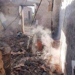 INCENDIOS EN RAWSON Y CAUCETE  PARTE DE BOMBEROS