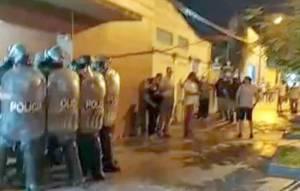 Grupos paramilitares de municipales en Clorinda, Formosa