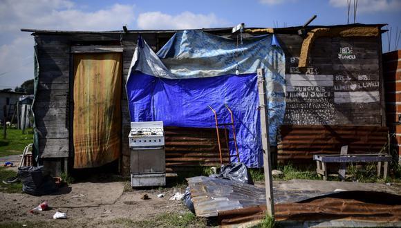 Miseria en las afueras de Buenos Aires