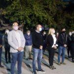 El municipio de RIVADAVIA inauguró luminarias LED en Villa Las Delicias, La Bebida